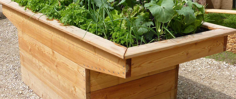 Zaune Terrasse Hochbeete Holz Resch